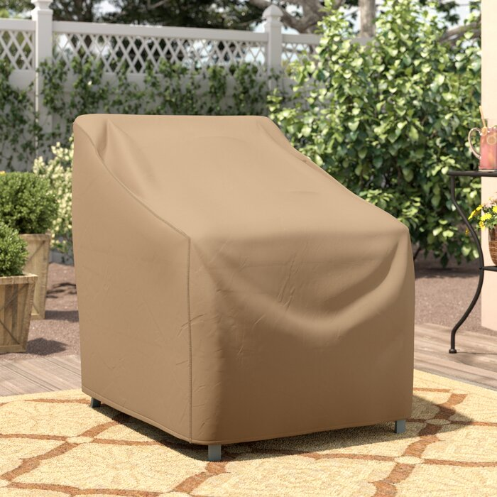 Pleasant Wayfair Basics Patio Chair Cover Andrewgaddart Wooden Chair Designs For Living Room Andrewgaddartcom