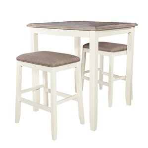 Amaury Pub Table Set by Laurel Foundry Modern Farmhouse