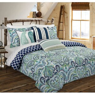 Watkinsville Reversible Duvet Cover Set