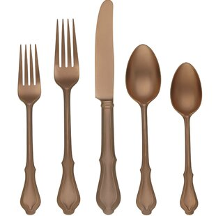 Hampden 5 Piece Flatware Set, Service for 1