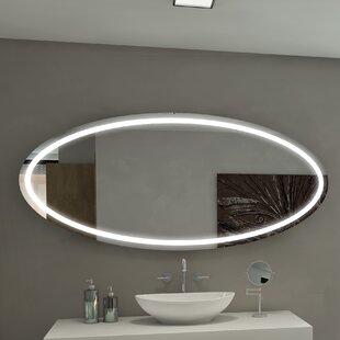 Compare Tokyo Illuminated Bathroom / Vanity Wall Mirror ByParis Mirror