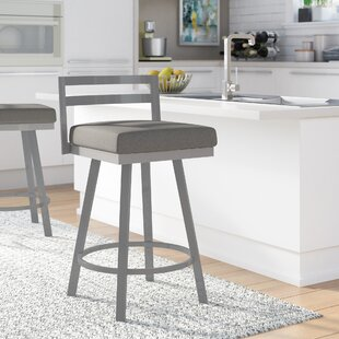 Penton 26.75 Swivel Bar Stool by Brayden Studio Herry Up