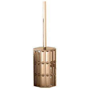 Glitz Free Standing Toilet Brush and Holder ByNU Steel