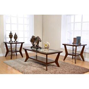 Savings Waterford 3 Piece Coffee Table Set ByEbern Designs