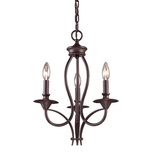 Tarres 3-Light Candle Style Chandelier