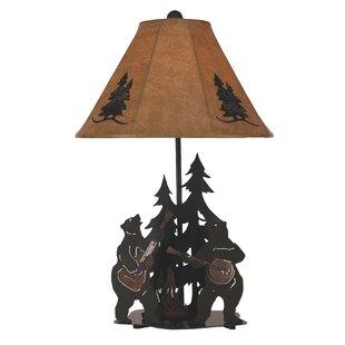 Liana Iron Music Bears 29 Table Lamp