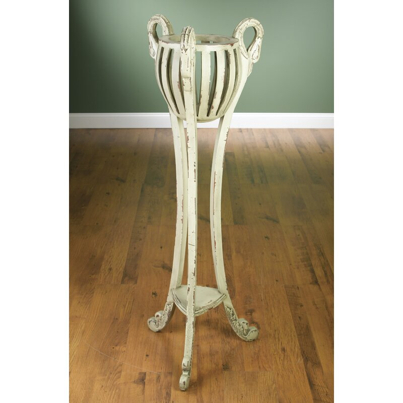 AA Importing Plant Stand  Finish: Parchment