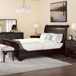 landon 5piece sleigh bedroom set