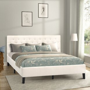 Leiser Upholstered Platform Bed by Charlton Home