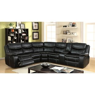 Shop Schumann Reclining Sectional by Red Barrel Studio