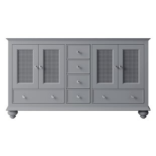 Larry 60 Double Bathroom Vanity Base Only by Darby Home Co