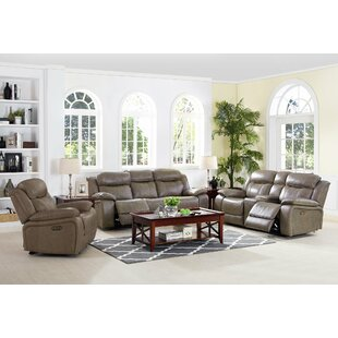 Principato Leather Reclining Configurable Living Room Set by Red Barrel Studio