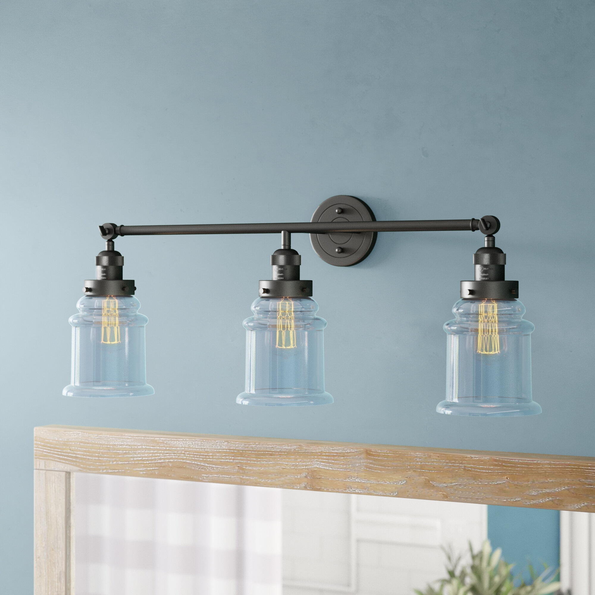 The Kitchen Greeley: Laurel Foundry Modern Farmhouse Greeley 3-Light Vanity