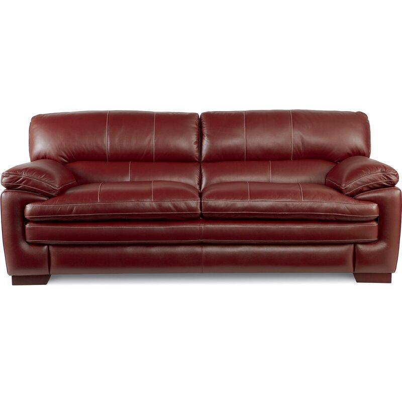 Leather Sofas Reviews: La-Z-Boy Dexter Leather Sofa & Reviews