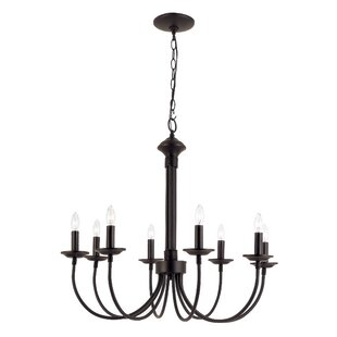 Chandeliers youll love wayfair shaylee 8 light candle style chandelier aloadofball Choice Image