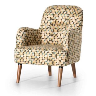 Genial Charpentier Patterned Armchair