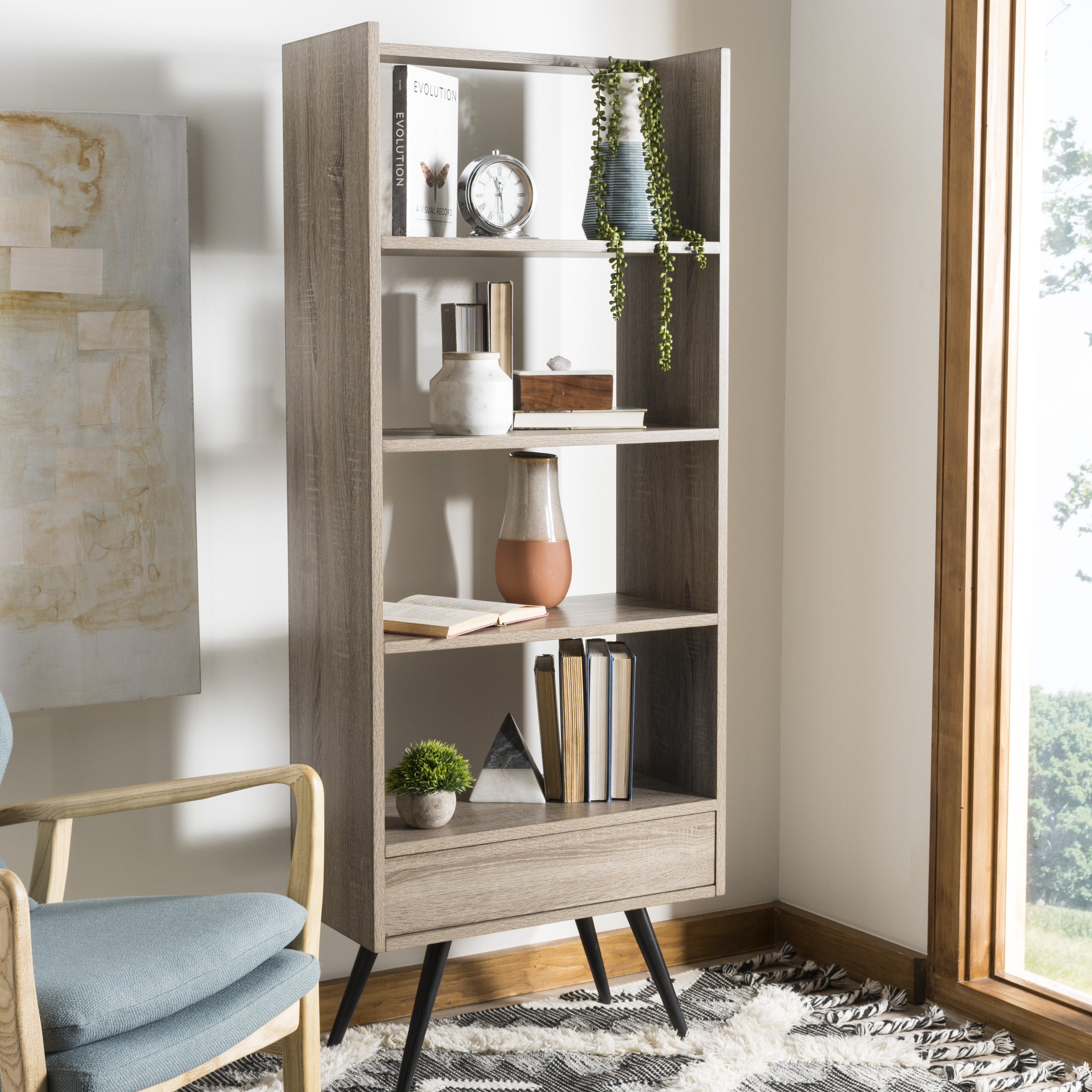 Image of: Mid Century Modern Bookcases You Ll Love In 2020 Wayfair