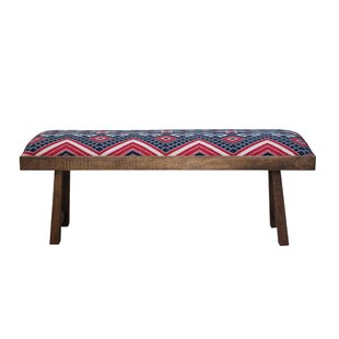 Nancee Mango Wood Bench