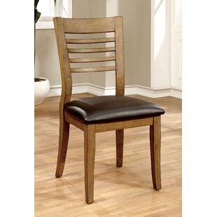 Bergman Upholstered Dining Chair (Set of 2) Millwood Pines