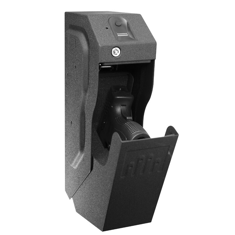 Fingerprint Off-White Color Personal Safe Biometric