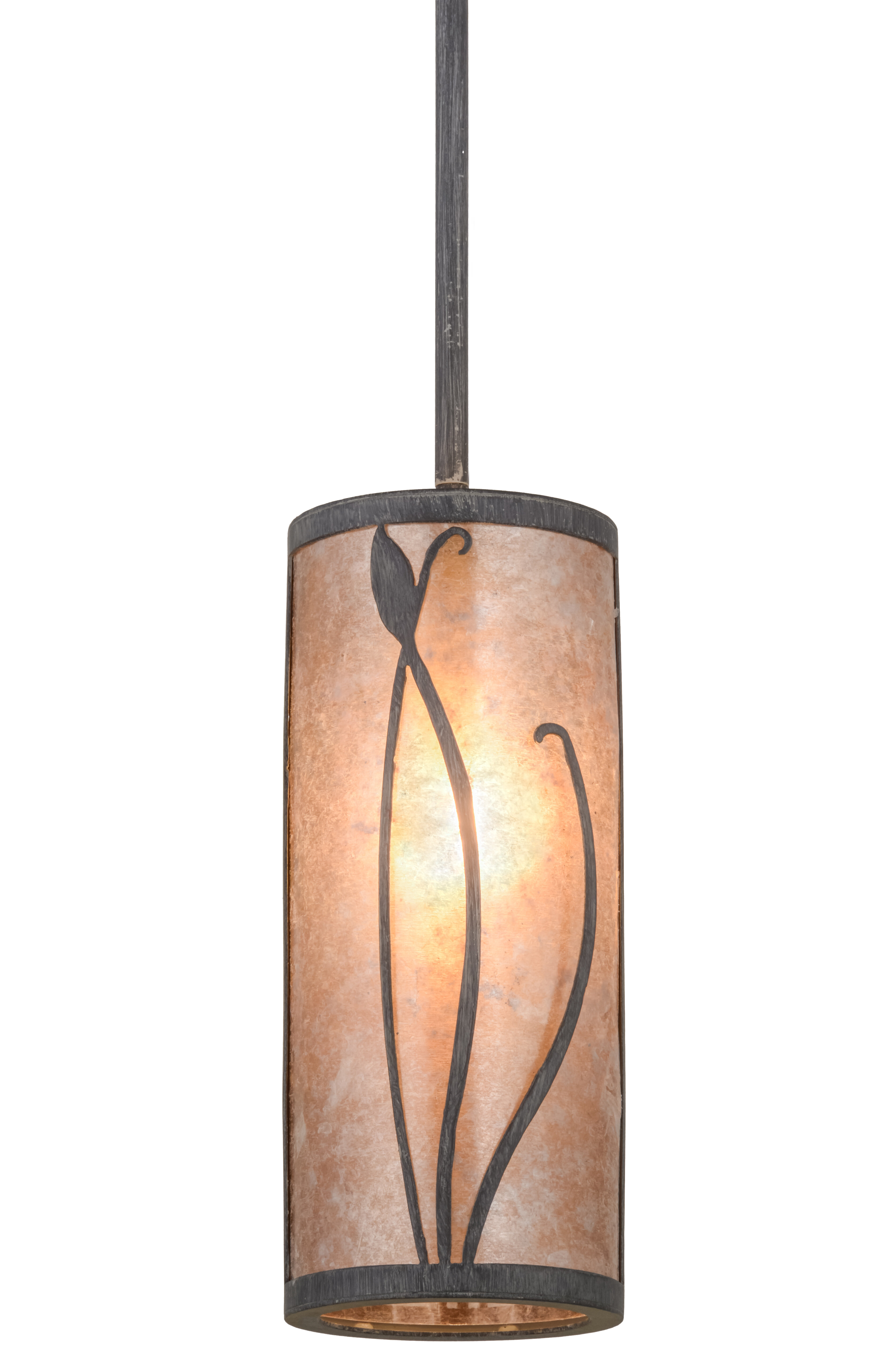 Meyda Tiffany Greenbriar Oak 1 Light Single Cylinder Pendant Wayfair