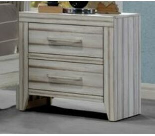Julianne 2 Drawer Nightstand