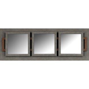 Gracie Oaks Womac Triple Wall Mirror
