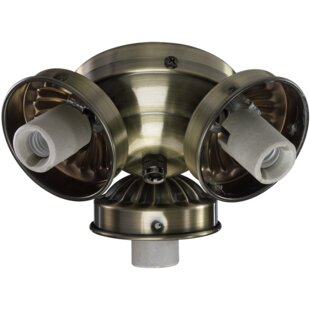 Top Reviews 3-Light Branched Ceiling Fan Light Kit By Quorum