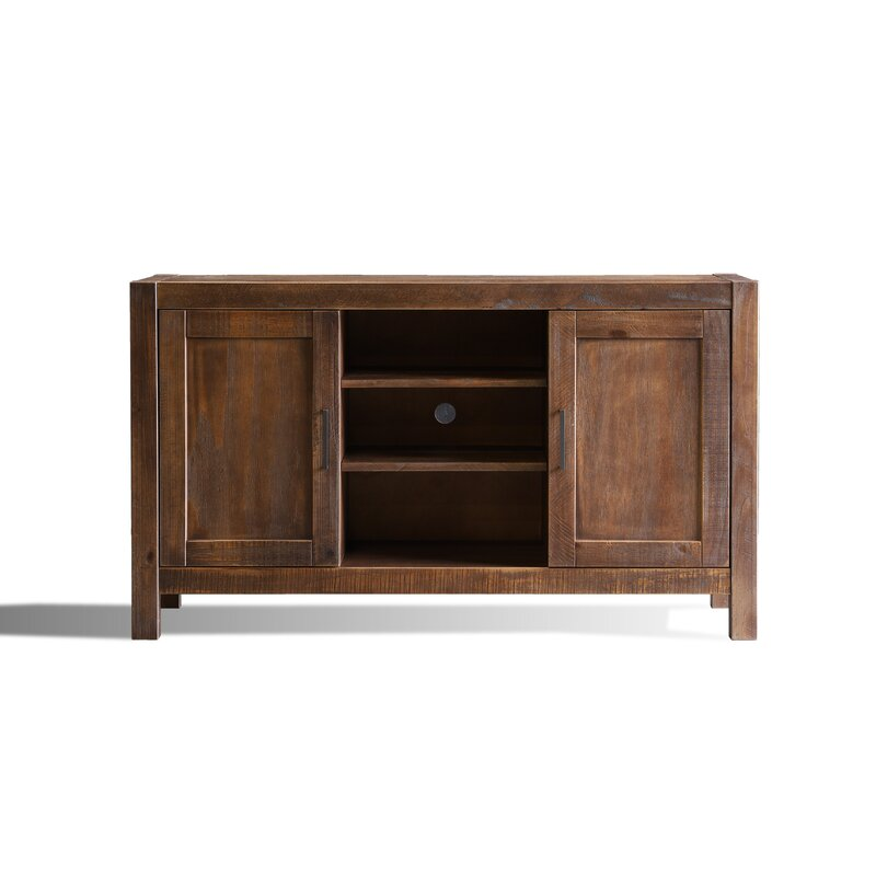 Grain Wood Furniture Montauk Solid Wood Tv Stand For Tvs Up To 60 Reviews