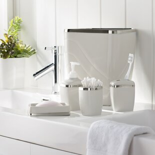 Bathroom Accessory Sets White Bathroom Accessories You Ll Love Wayfair