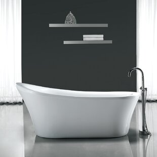 Purchase Rachel 70 x 34 Freestanding Acrylic Slipper Bathtub By Ove Decors
