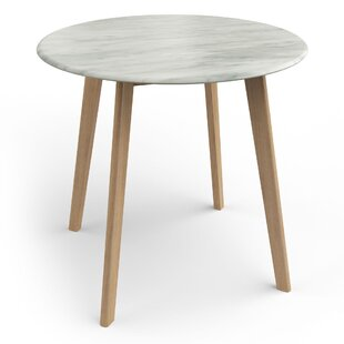 Lanoue Faux Marble Dining Table by Turn on the Brights Design