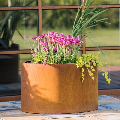 Cor-Ten Steel Planter Box GrillSymbol
