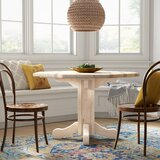 Abella Solid Wood Dining Table by Loon Peak®