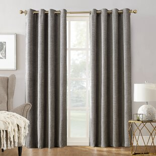 Manor Chenille Velvet Thermal Max Blackout Grommet Single Curtain Panel by Sun Zero