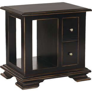 Compare Westport End Table with Storage By Bernhardt