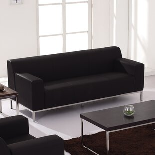 Tomica Contemporary Leather Sofa
