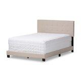 Aldah Tufted Upholstered Low Profile Standard Bed by Ebern Designs