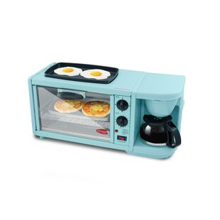 Great Price 3 in 1 Deluxe Breakfast Station ByElite by Maxi-Matic