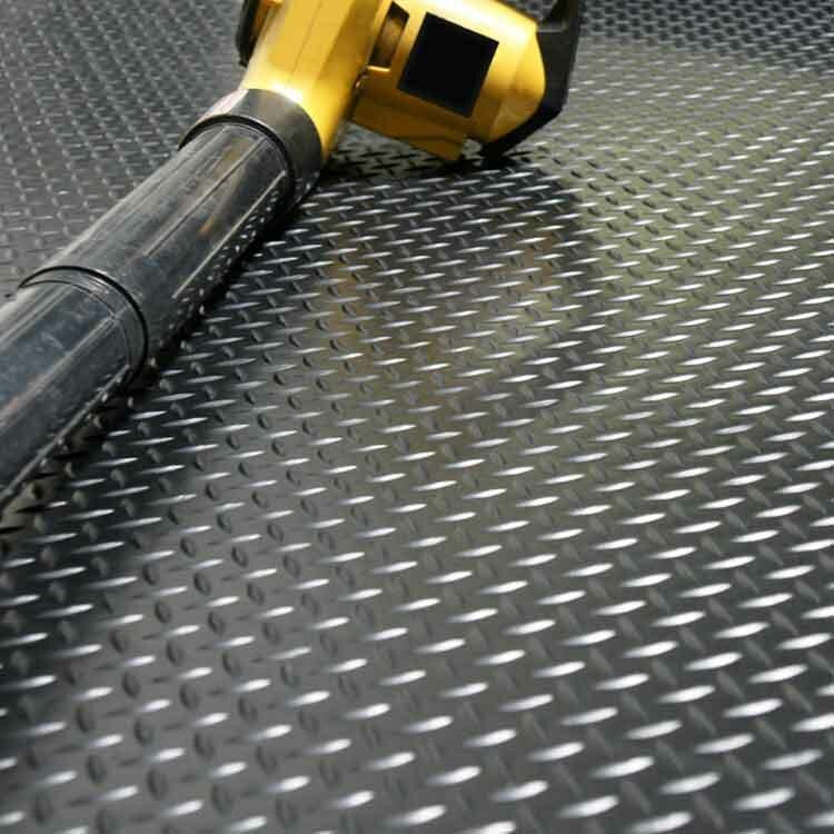 Diamond Plate Garage Flooring Roll