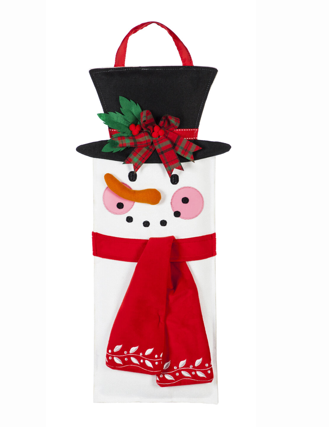 The Holiday Aisle Stacked Nutcrackers Statement Stake Door Mural Wayfair