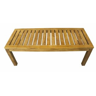 Burke Patio Teak Garden Bench