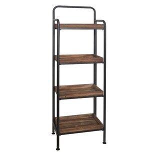 4 Tier Wood Shelving Unit
