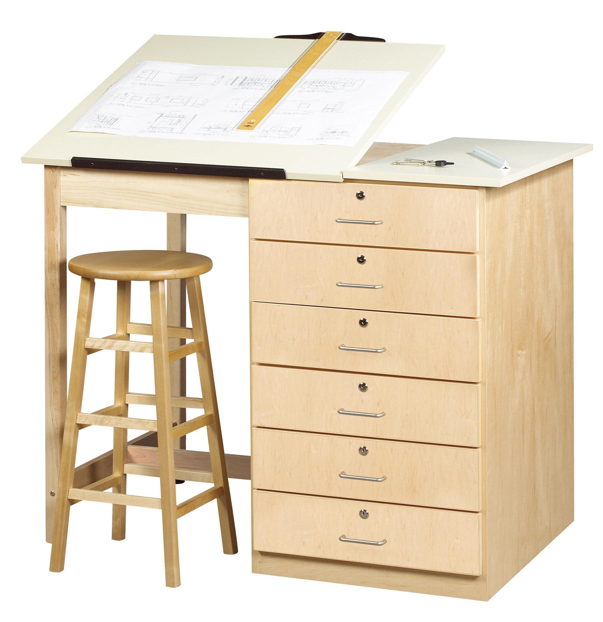 Shain Fiberesin Dowel Drafting Table