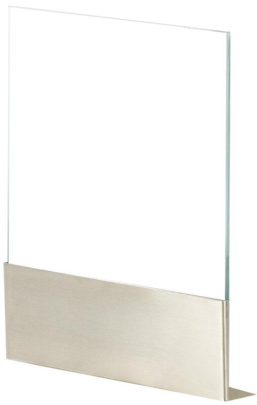 EcoSmart Fire Ghost Single Panel Glass Fireplace Screen & Reviews ...