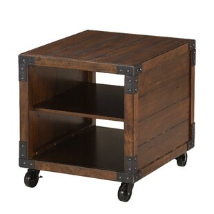 Where buy  Alisha End Table by 17 Stories