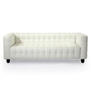 Great Price Kubus Mid Century Modern Leather Chesterfield Sofa by Kardiel Reviews (2019) & Buyer's Guide