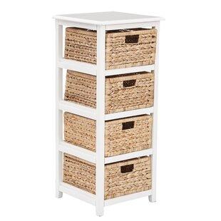 Check Prices Kyoko 4 Drawer Wood Storage Chest ByBeachcrest Home