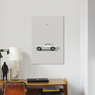 '1965 Aston Martin DB5' Graphic Art Print on Canvas By East Urban Home