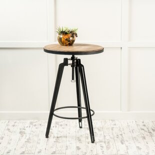 Grenshaw Adjustable Pub Table by Gracie Oaks Coupon